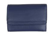 Prime Hide Ultra Soft Ladies Double Flap Leather Purse - 2323