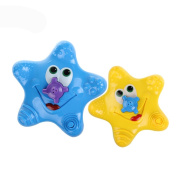 Gubest iHome & iLife Baby Cartoon Starfish Bath Toy Star Bathtub Shower Spray Rotating Water Fountain Swimming Pool Game for Kids