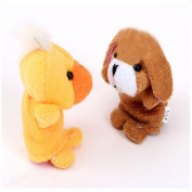 Children's Toys, Brisky Babies' 10pcs Animal Finger Puppet Plush Child Early Education Gift