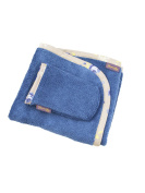 Glorious Lou Towel and washcloth set - 70 x 45 cm - 100% cotton - Collection Pepper - Indigo