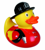 Perfect For Christmas, Xmas, Stocking Fillers, Birthdays, Easter, Present Gift Idea - Best Seller Bath Time Fun Novelty Firefighter Fireman Squeaking Rubber Duck - Boys Boy Child Children Kids - One Supplied