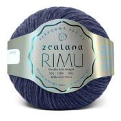 Zealana Rimu Double Knit Weight - Pukeko Blue