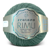Zealana Rimu Double Knit Weight - Green Taru