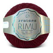 Zealana Rimu Double Knit Weight - Kura Berry