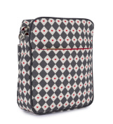 Pink Lining Messenger Diamonds and Hearts Changing Bag