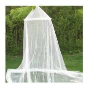 AKSSWEET Romantic Dream Round Mosquito Net Women Girl Princess Indoor Insect Bed Canopy Mesh Curtain