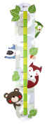 Classic Children's Wooden Ruler Woodland Animals Up To 1.5 metres Tall