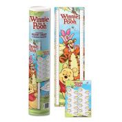 Winnie The Pooh 1.6m Height Chart & Marker Stickers