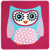 Owl Rug - 80 x 80 cm