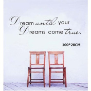 Coribe Dreams Wall Art Sticker Removable Art Mural for Yang and Children
