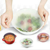 Pggpo Multifunctional Silicone Food Saran Wrap Clear Reusable Silicone Wraps Seal Cover Stretch Fresh Keeping Kitchen Tools Cooking