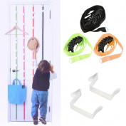 Pggpo Over Door Hanging Lanyard Hanger Hat Handbag Coat Tidy Storage Organiser Hook
