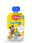 Del Monte Squeezie 100% Fruit No Added Sugars (pack of 16)