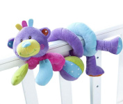 Baby Kids Pushchair Hanging Toys Cute Animal Pram Cot Bed Soft Toy