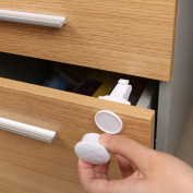 BELLESTYLE Child Safety Cupboard Locks -Magnetic Adhesive Baby Proofing Cabinet/Drawer Safety Locks No Drilling Needed