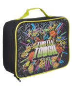"Teenage Mutant Ninja Turtles ""Turtle Tough"" Insulated Lunchbox - black/green, one size"