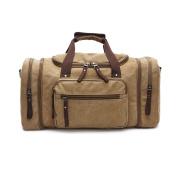 Gendi British Style Retro Canvas Single Shoulder Bag Handbag Large Capacity Travel Bag