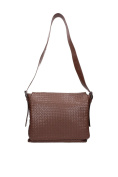161314VQ1312515 Bottega Veneta Satchels Men Leather Brown