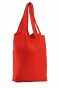 SOLS Unisex Pix Fold Away Shopping Bag Red ONE