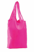 SOLS Unisex Pix Fold Away Shopping Bag Neon Pink ONE