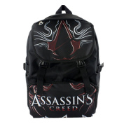 Assassin's Creed Backpack Students Shoulder School Bag as picture 16*30*45cm