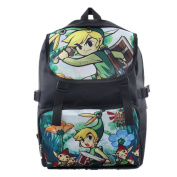 The Legend of Zelda Double Pouch Backpack as picture 16*30*45cm