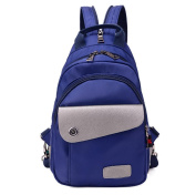 LLL-Waterproof chest Pack backpack casual Oxford men's and women's