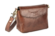 HOLZRICHTER Berlin Women's HR-FB-1-1 Cross-Body Bag Brown Mahagoni Braun 13cm (H) x 17cm (B) x 8cm
