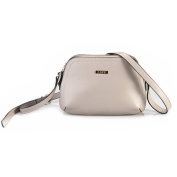 ZAPP- 'Thrice' pebbled leather handbag (colour