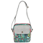 GESIMEI Women's Flower Painted Canvas Cross-Body Bag Students' Bag