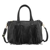 LeahWard Fashion Tassel Tote Bags For Women Shoulder Handbags Ladies Great Bag 6007 6008