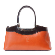 "HANDBAG ""ELEGANZA"" WITH DOUBLE HANDLE MADE OF GENUINE CALF LEATHER 200"