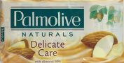SIX PACKS of Palmolive Naturals Soap Delicate Care with Almond MIlk 3 x 90g Bars