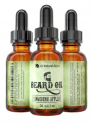 Beard Oil - All-Natural and Organic Leave-In Conditioner for Men with Beards and Moustache - Smooth Touch Feels. Wax - Anti-Itch / Anti-Inflammatory - 100% Satisfaction Guaranteed! 5 New Scents to Choose From! - Works great as a substitute f ..