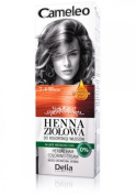 Cameleo Herbal Henna Colouring Cream COPPER RED 75g Natural Henna extract with Moroccan Oil