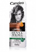 Cameleo Herbal Henna Colouring Cream GOLDEN CHESTNUT 75g Natural Henna extract with Moroccan Oil