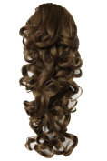 PRETTYSHOP 50cm Hair Piece Pony Tail Extension Voluminous Curly Or Wavy Heat-Resisting Colour Variation H205