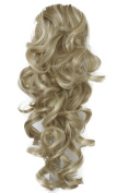 PRETTYSHOP 50cm Hair Piece Pony Tail Extension Voluminous Curly Heat-Resisting blond mix # 24H613 H210