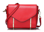 Longzibog Leather 2016 New Simple Style Fashion Tote Top Handle Shoulder Cross Body Bag Satchel