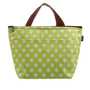 Fortan Portable Insulated Thermal Lunch Box Tote Storage Bag Travel Picnic Green