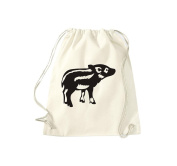 T-Shirt Stown Gym Bag Animals Young Pig Pig Pig/Boar Piglet Boar,