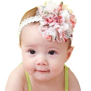 Babies' Headband, Brisky Flower Girl Lace Infant Hair Weave Baby Accessories