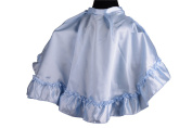 Hairdressers Cape Satin with Ruffle in Assorted Colours