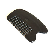 Hrph Scraping Plates Traditional Acupuncture Massage Body Tool Board Ox Horn Comb Portable Hair Brush Brushes