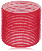 Efalock Adhesive Winders 73 mm Red Pack of 2 x Pack of 6)