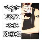 1 Pc Temporary Waterproof Tattoo Sticker Totem Pattern Arm Body Art Tattoos