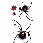 1 Sheet Temporary 3D Ladybeetle Tattoo Decals Fashion Waterproof Body Art Tattoos Sticker