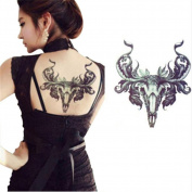 1 Sheet Waterproof Temporary Tattoo Sticker Animal Pattern Decal Body Art Fake Transfer Tattoos