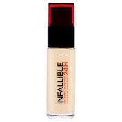 L'Oreal Paris Infallible Foundation, Porcelain 015 25ml