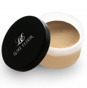 Setting Powder (01 Aria) - 20 gr - Premium Finishing Powder Foundation for Oil Control and Flawless Makeup - Perfect for Medium Skin Tone with Deep Yellow Undertone - Step-by-Step Setting Powder Guide Included